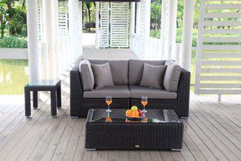 poly rattan lounge kaufen rattan gartenm bel. Black Bedroom Furniture Sets. Home Design Ideas