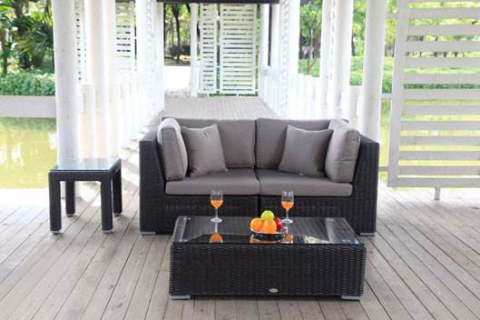 kleine rattan lounge kaufen rattan gartenm bel. Black Bedroom Furniture Sets. Home Design Ideas